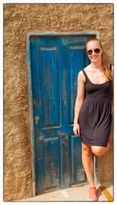 Celine Kap Verde Blå dörr
